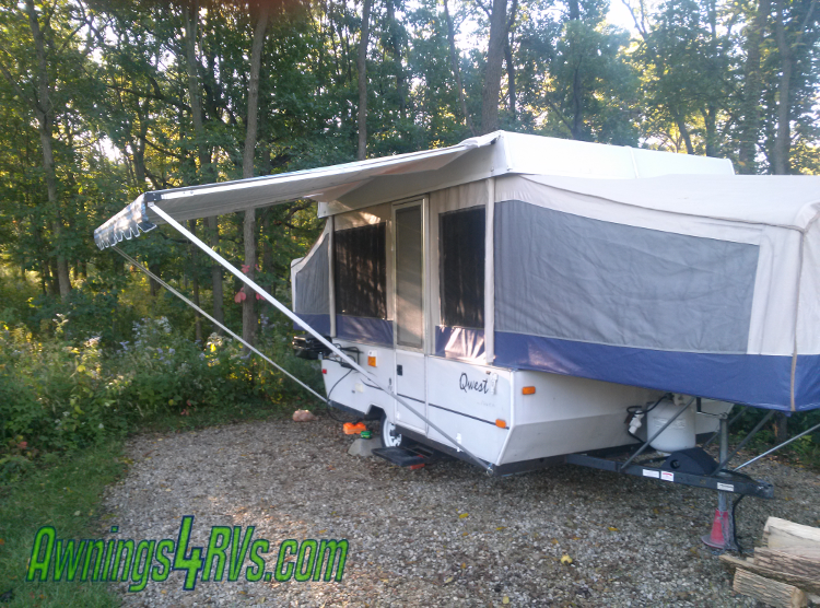Jayco Pop Up Camper Awning : Ft supreme extended leg bag awning